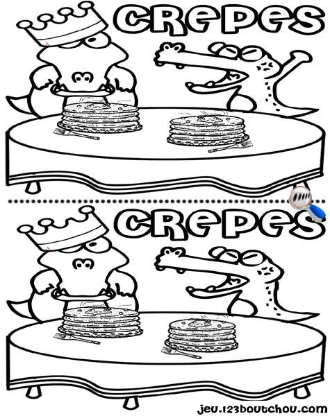 7 différences enfant fiche 7 différences fetes / mardi gras