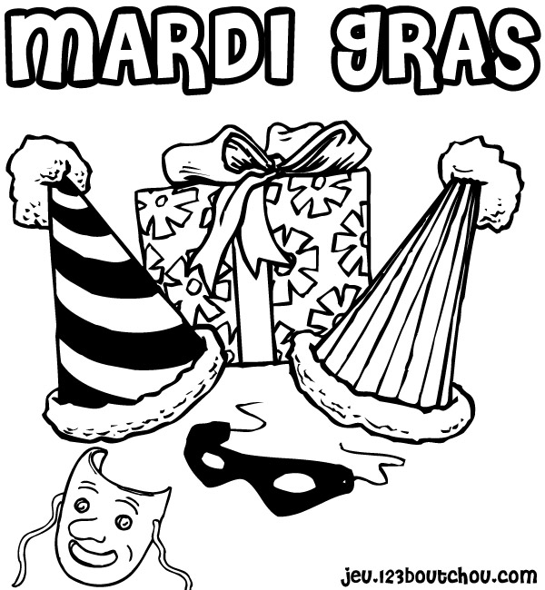 Coloriage Carnaval Simple.New Coloriage Carnaval Maternelle Impressionnant Coloriage Carnaval