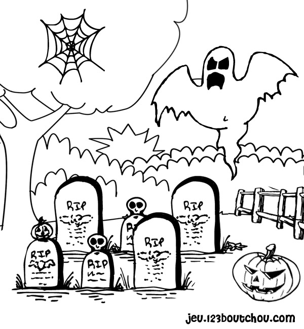 Happy halloween - Coloriages d halloween ...