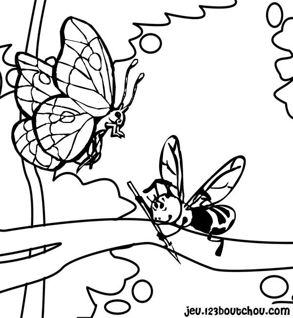 Coloriage Animaux Nature Et Ses Amis Pour Enfants A Imprimer