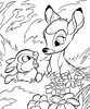 coloriage enfant Coloriage Bambi Walt Disney