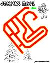 labyrinthe enfant labyrinthe végétal de noel
