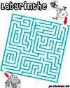 labyrinthe enfant labyrinthe géant de noel