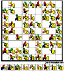 sudoku enfant Grille sudoku mario n° 2