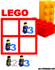 sudoku enfant Grille sudoku Simple lego n° 4