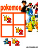 sudoku enfant Grille sudoku Simple pokemon n° 2