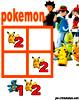 sudoku enfant Grille sudoku Simple pokemon n° 2