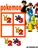 sudoku enfant Grille sudoku Simple pokemon n° 3