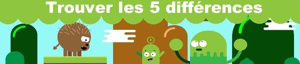albums gratuits de jeux 7 différences pour enfants